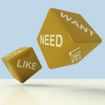 customer needs, wants and likes
