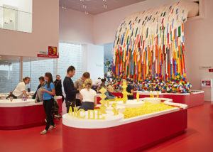 Lego House Waterfall